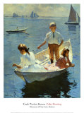 Calm Morning, 1904 Prints by Frank Weston Benson