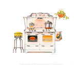 Cookin&#39; with Chrome Posters by Lisa Danielle