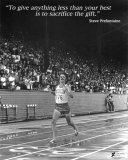 Steve Prefontaine: The Gift Plakater