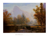 Half Dome, Yosemite Posters by Albert Bierstadt