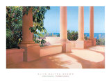 Island Columns Prints by Alice Dalton Brown