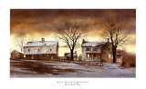 End of the Day Poster von Ray Hendershot