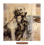 Loyal Companion Print by Mary Calkins