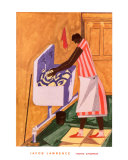 Home Chores, 1945 Prints by Jacob Lawrence