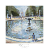 Parisian Afternoon II Print by Marysia Burr