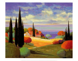 Provence by the Sea I Poster by Max Hayslette