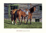 Curly and the Kid Prints by Ann Hanson