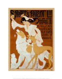 Spratt&#39;s Patent Ltd., c.1909 Art by Auguste Roubille