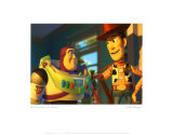 Buzz Lightyear y Woody Lminas
