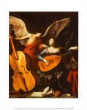 St. Cecilia and the Angel Plakat af Carlo Saraceni