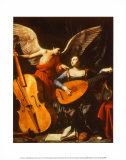 St. Cecilia and the Angel Poster autor Carlo Saraceni
