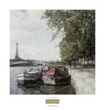 The Seine Posters by Ernesto Rodriguez
