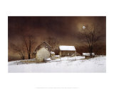 New Moon Stampe di Ray Hendershot