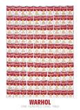 100個のキャンベルスープ缶, 1962 ポスター : アンディ・ウォーホル