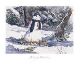 Frosty's Friend Poster by William Mangum
