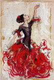 Flamenco I Art by Marta Wiley