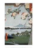 Suigin-Wäldchen und Masaki Poster von Ando Hiroshige