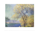 Antibes, 1888 Posters by Claude Monet