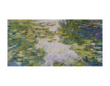 Water Lilies, c. 1917-19 Poster by Claude Monet