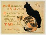 A la Bodiniere/Exposition Steinlen Reproducción por Théophile Alexandre Steinlen