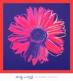 Margarita, ca. 1982 (azul y rojo) Póster por Andy Warhol