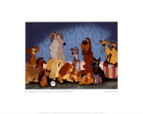 Cast of Lady and the Tramp Posters