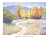 October Afternoon Prints by B. Oliver