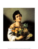 Boy with a Basket of Fruit Posters by Caravaggio