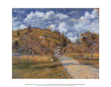 The Highway, 1880 Posters by Camille Pissarro
