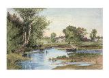 Hanson Creek Giclee Print