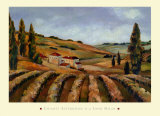Chianti Afternoon II Poster by John Milan