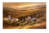 Tuscan Villa Poster by Carol Jessen