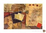 Gilded Leaf I Prints by Heather Judge
