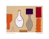 Lamps and Vases Print by Tiffany Lynch