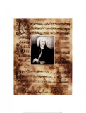 Principals of Music, Bach Posters by Susan Hartenhoff
