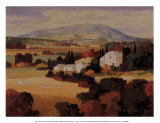 Fields of Provence I Art by Max Hayslette
