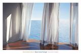 Błękity wpadające przez okiennice Sztuka autor Alice Dalton Brown