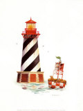 Seal Harbor Light Prints by Lisa Danielle