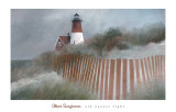 Old Nauset Light Poster by Albert Swayhoover