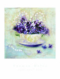 Lavender Tea Prints by Carmen Dolce