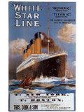 White Star Line, compagnie britannique Posters