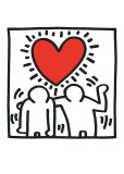 by us artist keith haring.