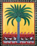 Coptic Palm Prints by Ron Yrabedra