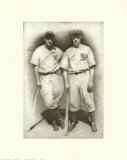 DiMaggio and Gehrig Posters by Allen Friedlander