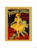Pantomimes Lumineuses Posters by Jules Chéret
