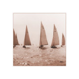 Sailing II Print