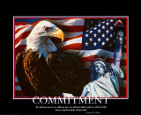 Patriotic Commitment Poster
