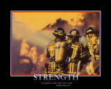 Patriotic Strength Art