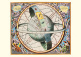 The Celestial Atlas Prints by Andreas Cellarius