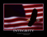Patriotic Integrity Poster